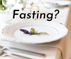 Fasting? A Journey
